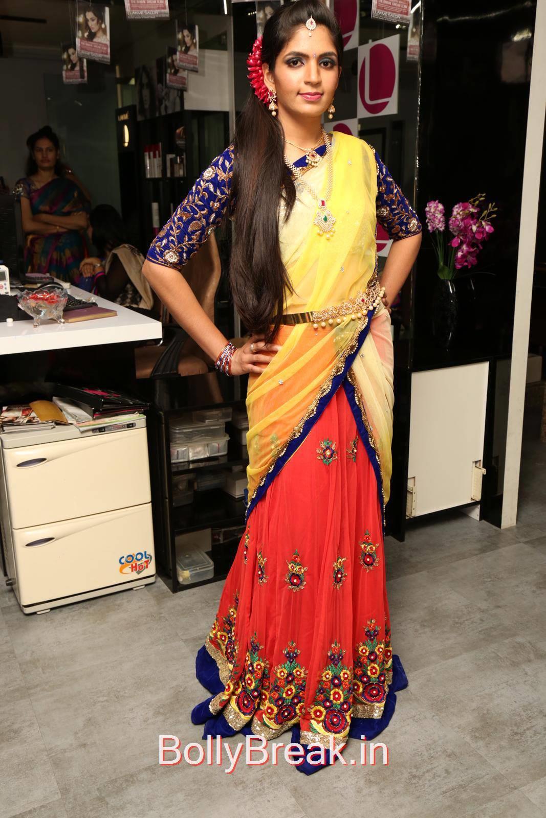 High Quality Anusha Pics, Anusha Hot Pics from Bridal Dream Make up At Lakme Salon
