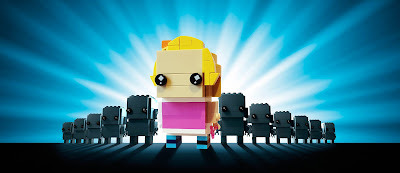 Les selfies by Lego BrickHeadz
