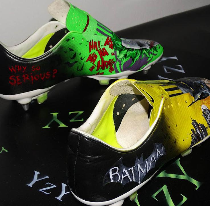 mejilla sin embargo dignidad  Batman y Joker, en unas botas personalizadas de Nike – La Jugada Financiera