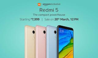 ଲଞ୍ଚ୍ ହେଲା Redmi 5 | Price , specification of Redmi 5