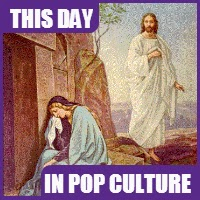 The first Easter was on March 25, 31 AD.