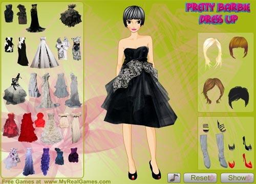 تنزيل لعبة تلبيس للبنات ( باربي الجميلة ) Pretty Barbie Dress Up مجانا