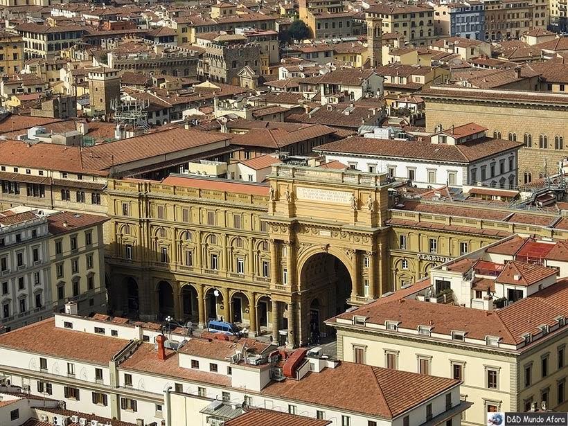 Piazza della República - O que fazer em Florença, Itália