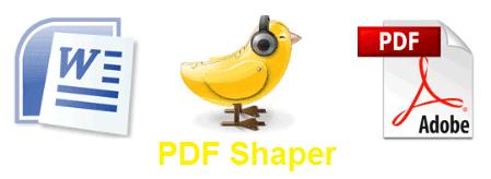 تحمييل برنامج تحرير وإنشاء ملفات البى دى إف PDF Shaper