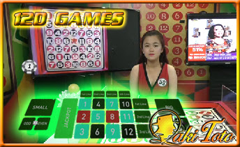 LIVE NUMBER GAME - 12D / BOLA GELINDING LAKI TOTO