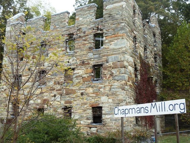 Chapman's Mill exterior
