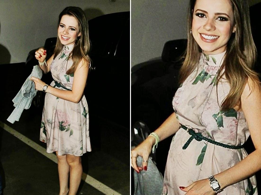 vestido de festa gravida sandy