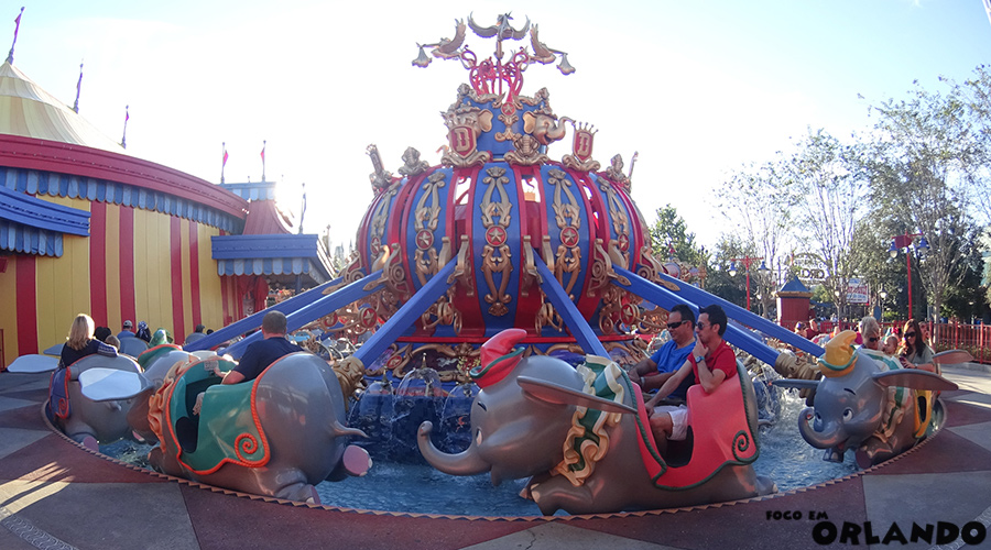 Dumbo, the flying elephant, Magic Kingdom