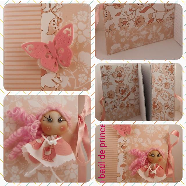 Detalles de cuaderno decorado