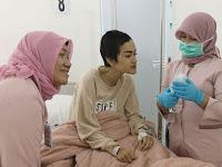 Begini Kondisi Julia Perez Yang Bikin Sedih, Doa Dari Netizen pun Mengalir