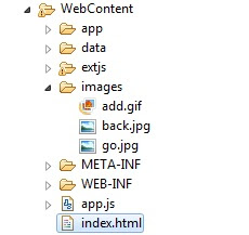 ExtJs add icon to button