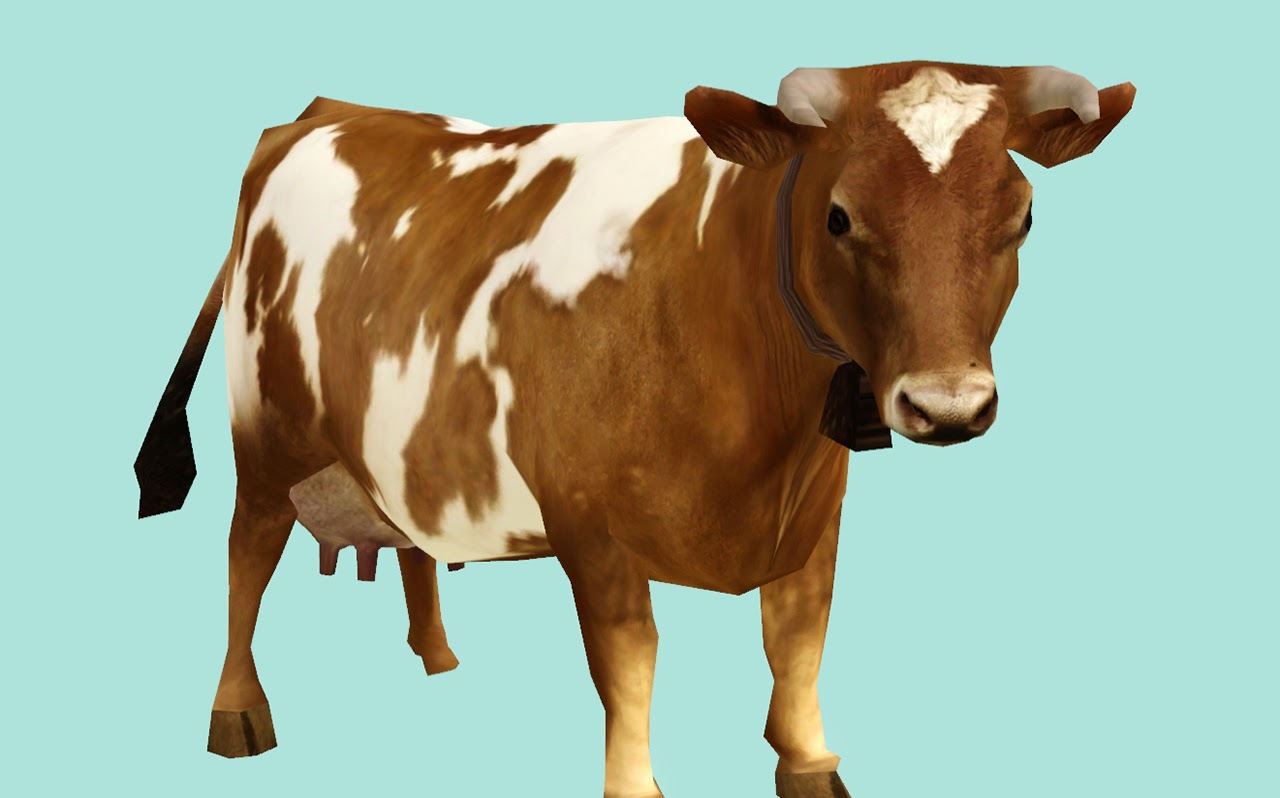 My Sims 3 Blog You Are A Free Cow Fence Less Default
