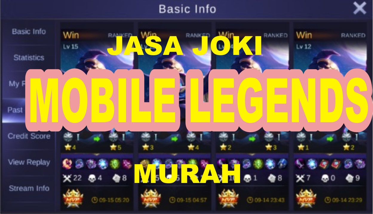 Joki Game Mobile Legend