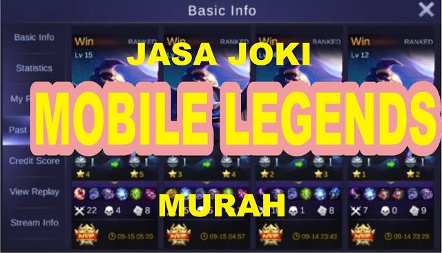 Jasa Naikin Rank MOBILE LEGEND Jasa Naikin Rank Mobile