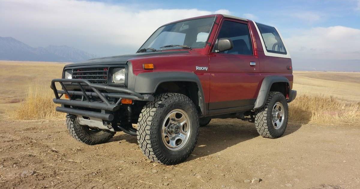 1990 Daihatsu Rocky 4x4 Manual Transmission
