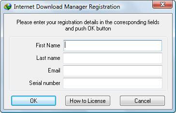 Mengatasi Internet Download Manager Registration yang sering muncul