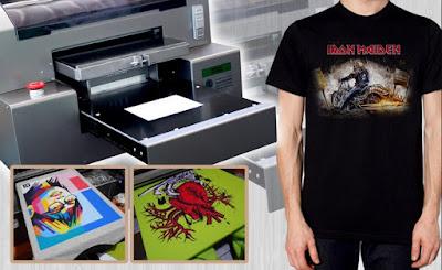 4 Manfaat Print Kaos yang Tidak Anda Temukan pada Sablon Manual