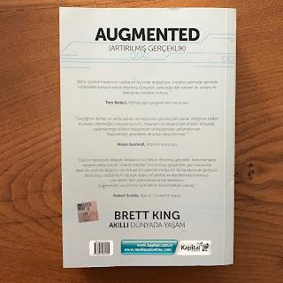 Augmented (Artirilmis Gerceklik) - Akilli Dunyada Yasam (Kitap) Arka Kapak