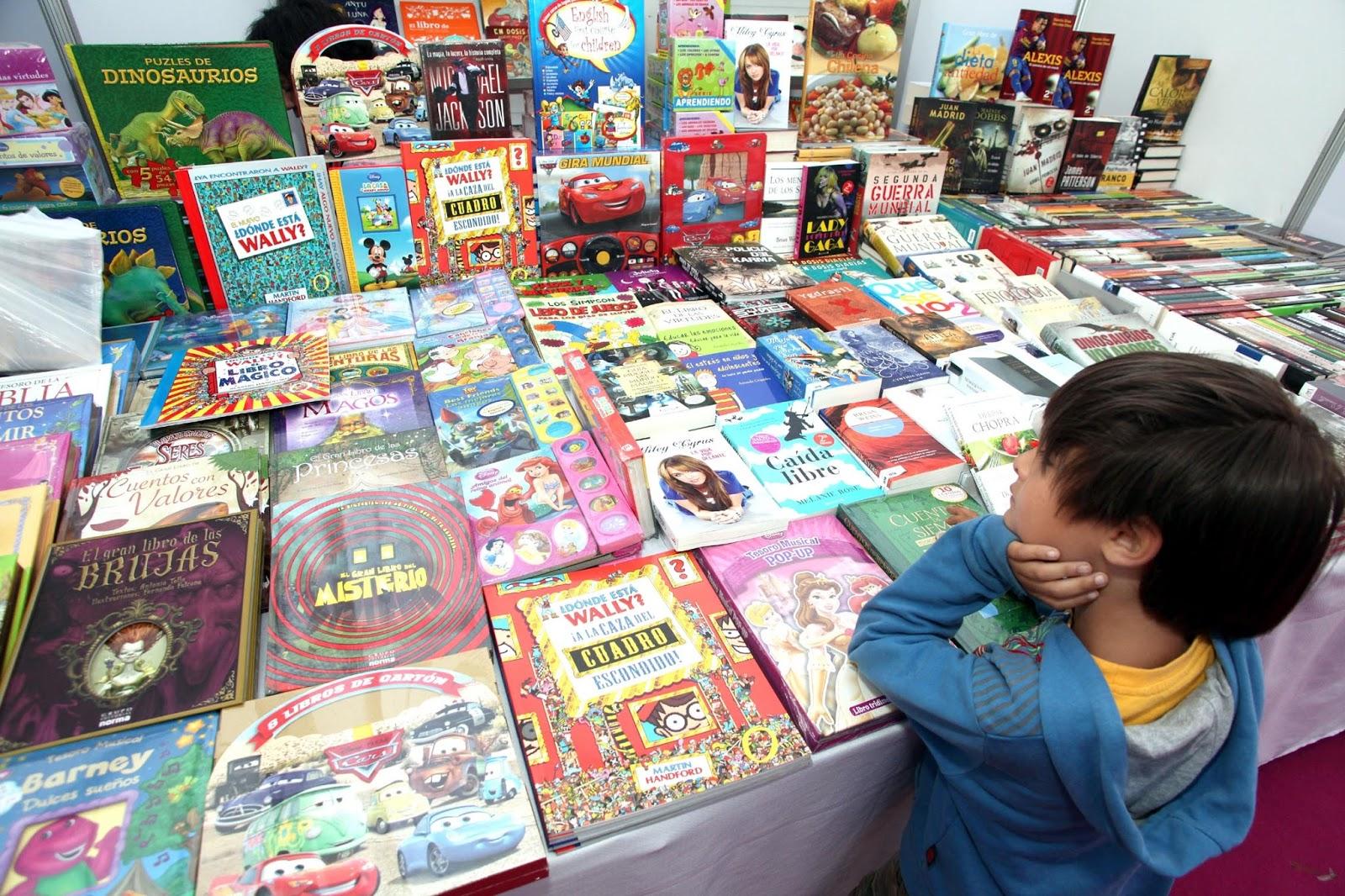 Resultado de imagen para feria libros chicos