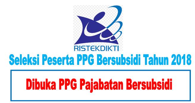 Peserta Ppg 2018