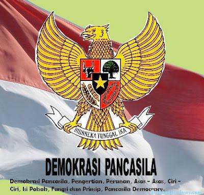 Pengertian demokrasi Pancasila dan Ciri - Ciri serta Asas - asas demokrasi Pancasila - berbagaireviews.com