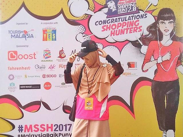 Serunya Menjadi Miss SHOPhia di Event Shopping Hunt 2.0 Kuala Lumpur