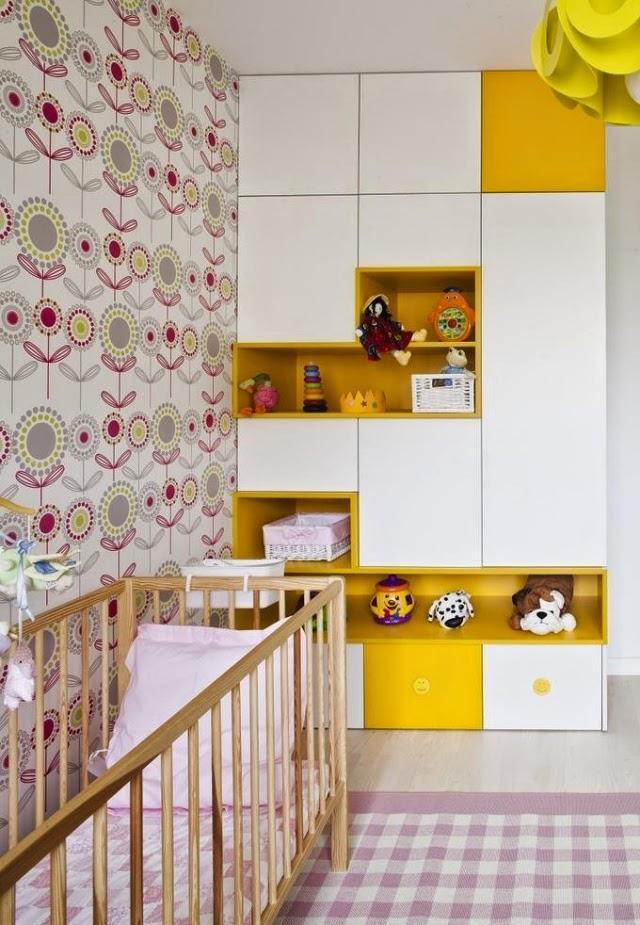 Lindo cuarto de bebé