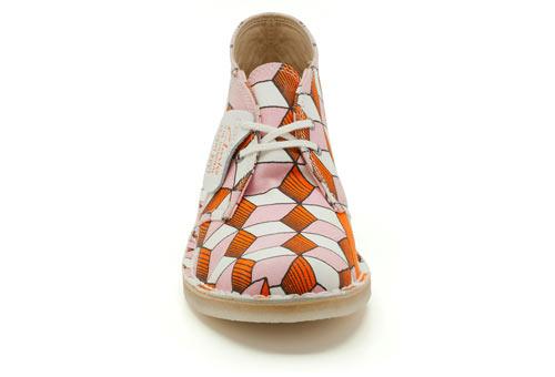 Diseño de zapatos con patrones