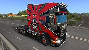 Kamikaze Scania RJL skin