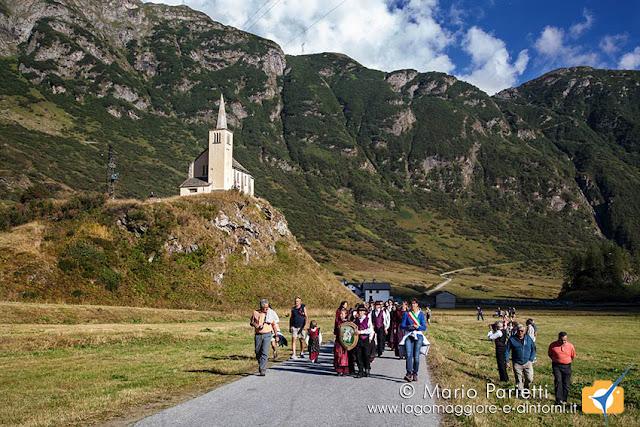 Sbrinz Route a Riale, la delegazione italiana con il sindaco in testa