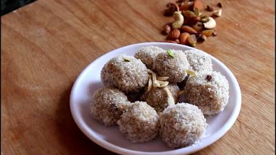 Nariyal Laddu-Nariyal Laddu Coconut Ladoo