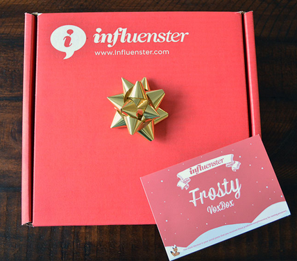 influenster frosty voxbox - photo credit: influenster.com