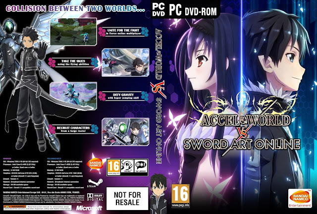 Capa Accel World vs. Sword Art Online PC