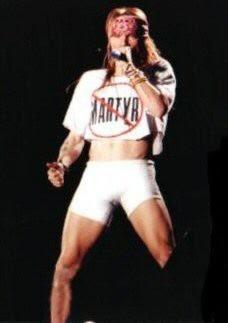 Axl Rose Guns N Roses Martyr shirt. PYGear.com