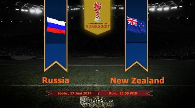 Prediksi Bola : Russia Vs New Zealand , Sabtu 17 Juni 2017 Pukul 22.00 WIB