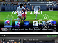 PES 2016 Galaxy V4 Euro 2016 PPSSPP Android + Save Data + New Jersey 2017