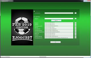 اداة التعديل على طاقات اللاعبين - PES 2019 Editor V3.0 by ejogc327