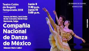 Compañía Nacional De Danza De México en Bogotá