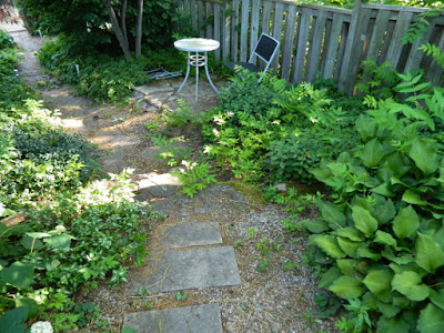 East York Toronto Backyard Garden Cleanup Before by Paul Jung Gardening Services--a Toronto Gardening Company