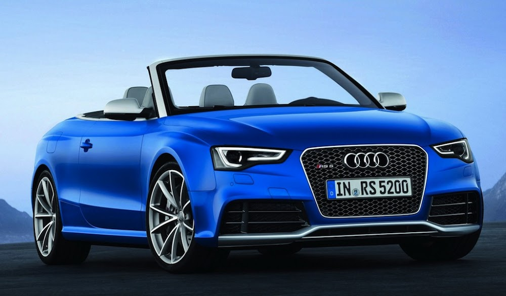 Detroit Auto Show: 2014 Audi R8 and RS5 Cabriolet
