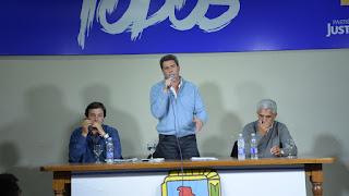 El espacio del gobernador Sergio Uñac logró un importante respaldo de los sanjuaninos en las Primas, Abiertas, Simultáneas y Obligatorias de este domingo. Durante el acto en el PJ, todos coincidieron en que deben redoblar el esfuerzo de cara a las Generales.