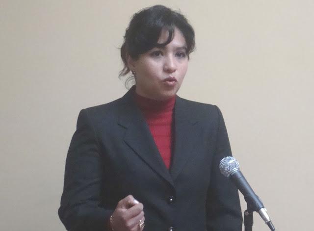 Andrade en su postulación a las elecciones para el TCP en 2011 / ARCHIVO
