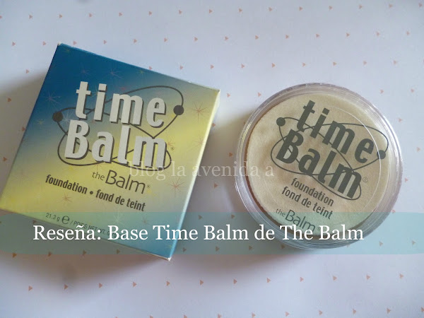 Reseña: Base Time Balm de The Balm