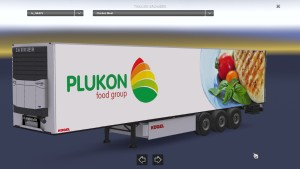 Plukon Coolliner standalone trailer