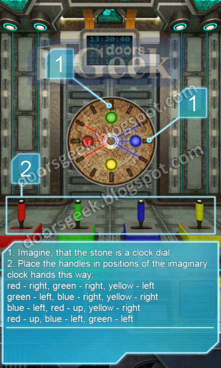100 Doors Aliens Space - Level 48 ~ Doors Geek