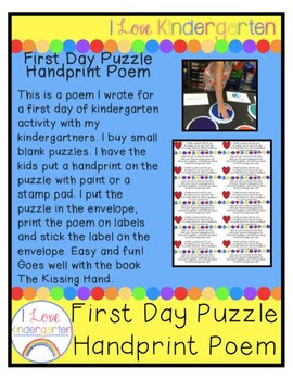 First Day Puzzle