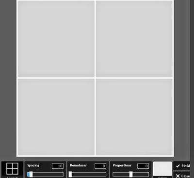 Mosaico de fotos online