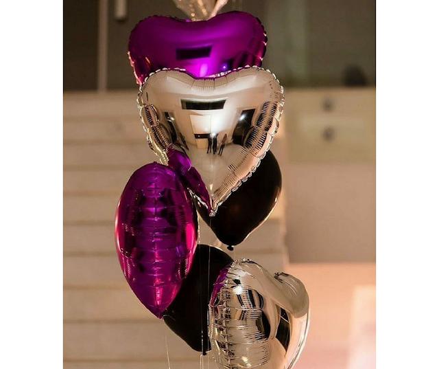 Arranjo de balões