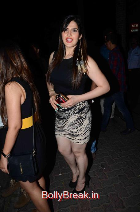 ,  Zareen Khan Hot Pics Coming From Party
