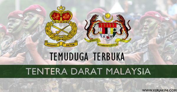 jawatan kosong tentera darat malaysia
